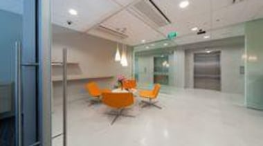 Laminam - Thin ceramic tiles for floors, walls ceiling, floor, flooring, glass, interior design, lobby, real estate, gray