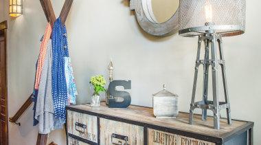 Mountain Modern - Hallway storage - furniture   furniture, home, interior design, product, room, shelf, table, white, gray