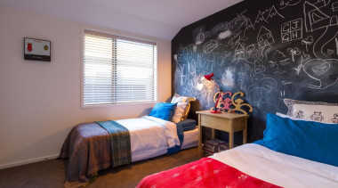 You'll have your sons drawing all over this bed, bedroom, ceiling, home, house, interior design, property, real estate, room, wall, gray