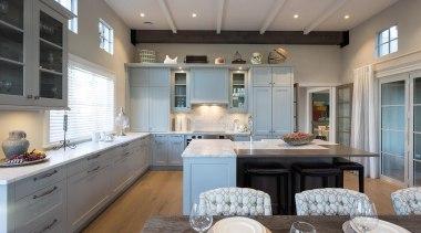 4 - ceiling | countertop | cuisine classique ceiling, countertop, cuisine classique, interior design, kitchen, room, gray