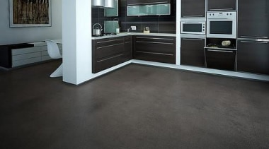 Cork Comfort - Pebbles Storm - Cork Comfort floor, flooring, hardwood, laminate flooring, tile, wood, wood flooring, black