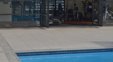 Tiles supplied by Heritage Tiles Commercial Division:900x600x20mm structural leisure, leisure centre, real estate, roof, swimming pool, water, teal, gray, black