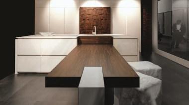 handleless design 3.jpg - handleless_design_3.jpg - countertop | countertop, floor, flooring, furniture, interior design, kitchen, room, table, black, gray