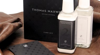 Thomas Maxwell Leather Cleaning Kit - Thomas Maxwell product, product design, black, white