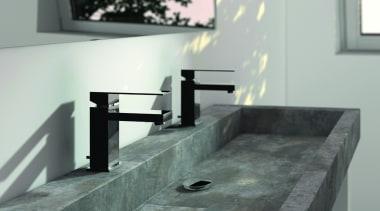 Steinberg 160 series basin mixer - Steinberg 160 countertop, plumbing fixture, sink, tap, gray