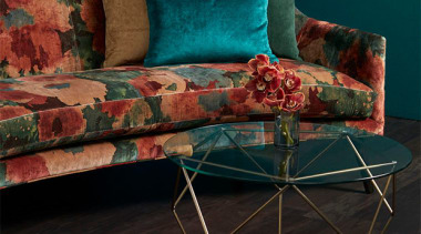Big, bold and beautiful, ALCHEMY is the perfect chair, coffee table, couch, furniture, interior design, table, black, teal
