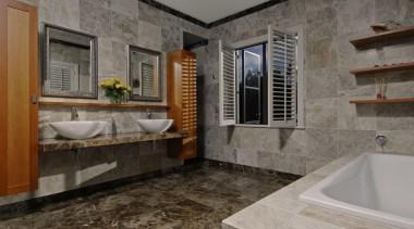 karakanew009 - Karakanew009 - bathroom | estate | bathroom, estate, floor, home, interior design, property, real estate, room, tile, gray, black