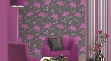 Jewel curtain, interior design, magenta, pattern, pink, purple, violet, wall, wallpaper, window covering, gray, purple