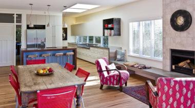 Seatoun Kitchen - Seatoun Kitchen - interior design interior design, kitchen, living room, real estate, room, table, gray