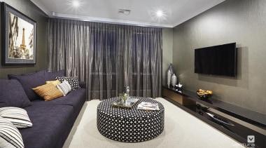Home theatre design. - 7.jpg - ceiling   ceiling, floor, interior design, living room, room, suite, wall, gray, black