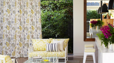 Alexia Collection - Alexia Collection - furniture | furniture, home, interior design, living room, table, wall, window, yellow, gray