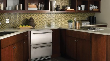 The new True Professional website at www.true-residential.com is cabinetry, countertop, cuisine classique, furniture, interior design, kitchen, under cabinet lighting, black