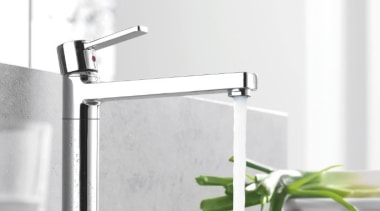 Kludi Zenta    Based on the angle, plumbing fixture, product, product design, sink, tap, white