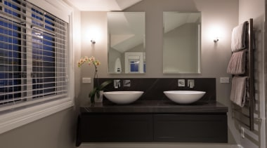 Img9025 - bathroom | interior design | room bathroom, interior design, room, gray, black