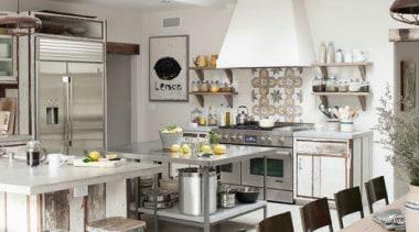 Lots of space? yes please!! combine little bit countertop, cuisine classique, interior design, kitchen, white, gray