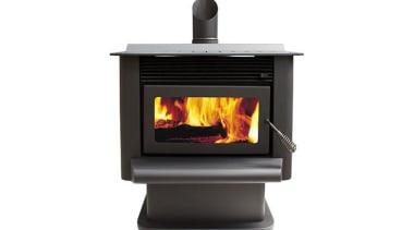 Fisher Hanmer hearth, heat, home appliance, product, wood burning stove, white