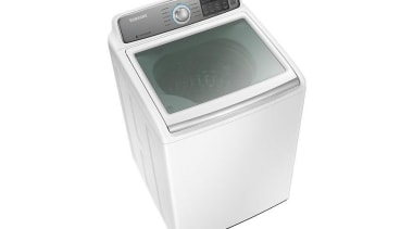 Laundry-Top loader WA10H7200GWA large 10kg capacity means you clothes dryer, home appliance, major appliance, product, product design, washing machine, white