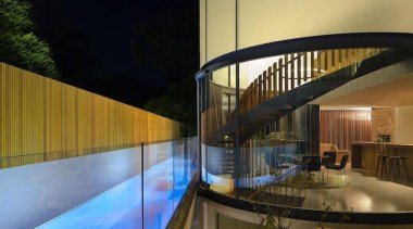 TIDA Australian Architect-Designed New Home - Highly Commended architecture, estate, home, house, interior design, lighting, property, real estate, reflection, swimming pool, brown, black