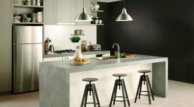 Classic Grey - Classic Grey - countertop | countertop, cuisine classique, furniture, interior design, kitchen, product design, table, white, black