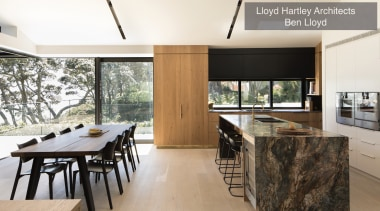 Runner-up – Lloyd Hartley Architects – TIDA New architecture, house, interior design, real estate, table, white