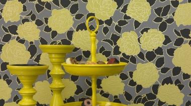 Brocante II Range - Brocante II Range - pattern, wallpaper, yellow