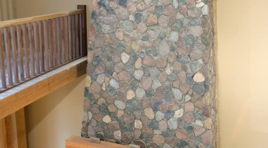 Split (Granite) Fieldstone Collection -Need to contact Natural fireplace, floor, flooring, hearth, interior design, living room, room, wall, gray, orange