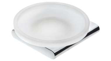 LOFT Wall Mounted Soap Dish - LOFT Wall product design, tableware, white