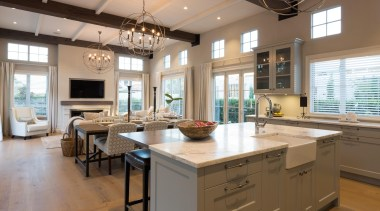 21 - countertop | cuisine classique | interior countertop, cuisine classique, interior design, kitchen, room, brown, gray