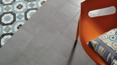 Each tile is identical and collectively combine to angle, floor, flooring, hardwood, pattern, product, table, tile, wall, wood, gray