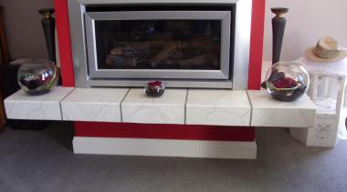 Overlay_26 - fireplace | floor | flooring | fireplace, floor, flooring, furniture, hearth, table, gray, black