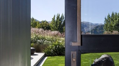 Lodge at the Hills - Lodge at the architecture, grass, house, sky, window, black, teal