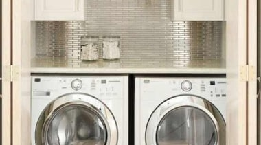 Utilitarian spaces such as laundry rooms and mudrooms clothes dryer, home appliance, laundry, laundry room, major appliance, product, room, washing machine, white