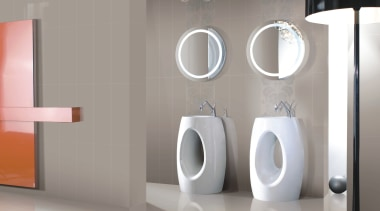 Origami light grey and floral bathroom wall tiles bathroom, ceramic, interior design, plumbing fixture, product, product design, sink, tap, urinal, gray