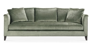 Vintage, antique, and modern pieces creatively express a angle, couch, furniture, loveseat, outdoor sofa, product design, sofa bed, studio couch, white, gray
