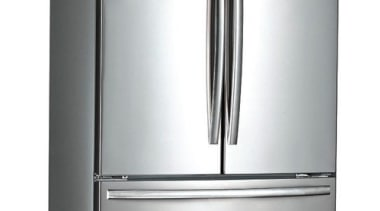 635L French Door Fridge FreezerGross Capacity: 635L445L Fridge home appliance, kitchen appliance, major appliance, product, product design, refrigerator, white