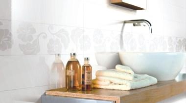 Origami white bathroom wall tiles floral decor - bathroom, ceramic, countertop, floor, interior design, plumbing fixture, product design, sink, tap, tile, white