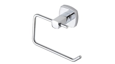 VELOSO Toilet Roll Holder - VELOSO Toilet Roll angle, bathroom accessory, product design, white