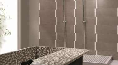 Fussena bathroom tiles - Natural Stone Range - floor, flooring, furniture, glass, interior design, sink, table, tile, wall, gray
