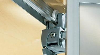 WingLine 780 folding door fitting. - Folding Door hinge, product design, window, gray, orange