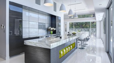 Winner Kitchen Design fo the Year 2013 South countertop, interior design, kitchen, gray
