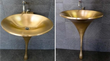 A washbasin is a washbasin is a washbasin bathroom sink, brass, metal, plumbing fixture, product design, sink, tap, gray, black