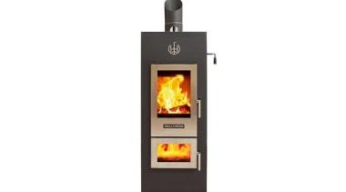 Ultra Low Emission Burner heat, home appliance, product, wood burning stove, white