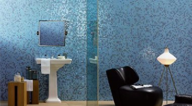 Sophia mosaic wall. - Bisazza Range - blue blue, floor, flooring, interior design, product design, tile, wall, wallpaper, teal
