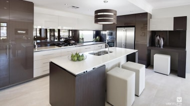 Kitchen design. - The Element Display Home - countertop, cuisine classique, interior design, kitchen, real estate, gray