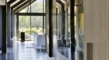 Lodge at the Hills - Lodge at the architecture, daylighting, floor, flooring, interior design, lobby, structure, gray, black