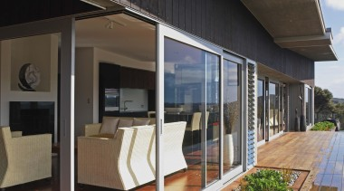 Waiheke - Indoor/Outdoor Living - waiheke - architecture architecture, facade, home, house, siding, window, black