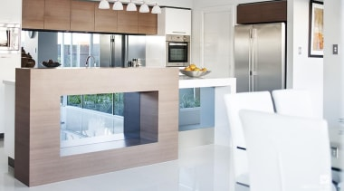 Kitchen design. - The Chianti Display Home - countertop, floor, interior design, kitchen, living room, product design, white