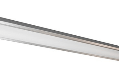 FeaturesThe extreme slim-line design of the Wave LED angle, lighting, product design, white