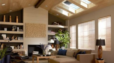 pglint05657 copy.jpg - pglint05657_copy.jpg - ceiling | daylighting ceiling, daylighting, home, interior design, living room, room, wall, window, wood, brown
