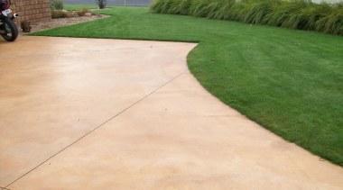 Colourmix 29 - Colourmix_29 - asphalt | driveway asphalt, driveway, grass, landscape, lawn, material, path, road surface, walkway, orange